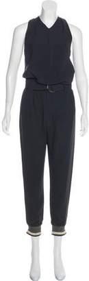 Brunello Cucinelli Silk-Blend Jumpsuit