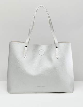 Claudia Canova shoulder bag with magnetic fastening and removable pouch