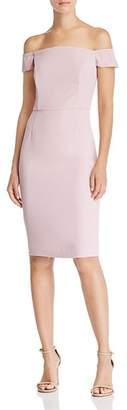 Adelyn Rae Veronique Off-the-Shoulder Dress