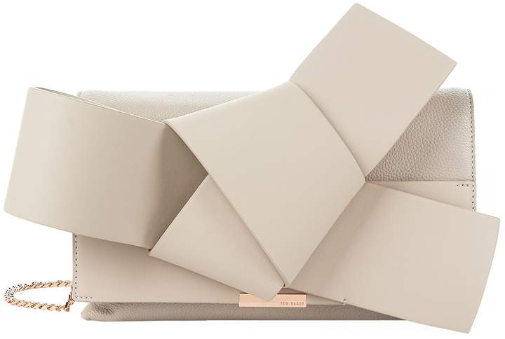 Ted Baker Asterr Giant Bow Clutch Bag