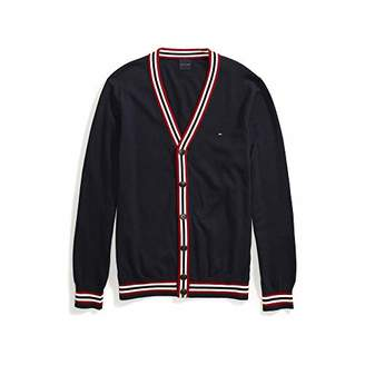 Tommy Hilfiger Men's Adaptive Cardigan Sweater with Magnetic Buttons