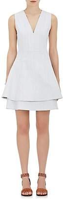 Derek Lam 10 Crosby Women's Denim Layered A-Line Dress