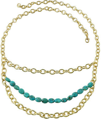 Artsmith BY BARSE Art Smith by BARSE Genuine Turquoise Layered Chain Necklace