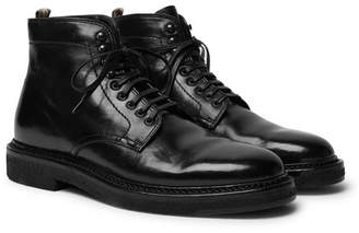 Officine Creative Stanford Polished-Leather Boots