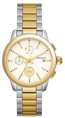 Tory Burch Collins Chronograph Bracelet Watch, 42mm