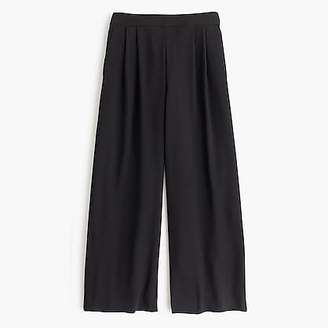 J.Crew Tall wide-leg crop pant in 365 crepe