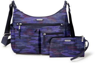 Baggallini Anywhere Large Hobo with RFID Phone Wristlet