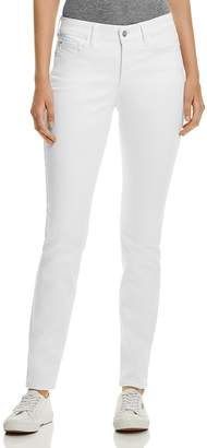 NYDJ Petites Alina Legging Jeans in Optic White $114 thestylecure.com