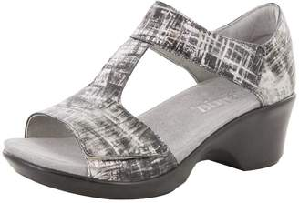 Alegria Women's Riki Velcro Sandal (RIK-157) Size: Euro 39 \ US 9, Width: Medium