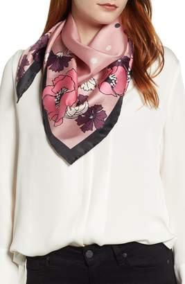 Kate Spade Dreamy Floral Silk Square Scarf