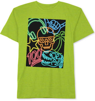 JEM Big Boys Neon 100 Graphic T-Shirt