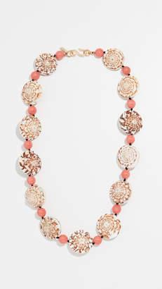 Kenneth Jay Lane Seashell Necklace