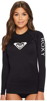 Roxy Whole Hearted Long Sleeve Rashguard Women's Swimwear