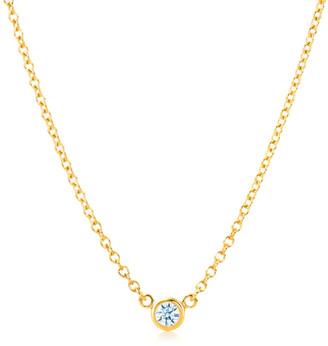 LeVian Suzy Diamonds Suzy 14K 0.15 Ct. Diamond Solitaire Necklace