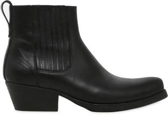 Our Legacy Leather Western Chelsea Boots