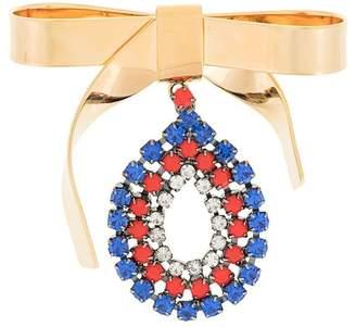 Marni bow embellished brooch