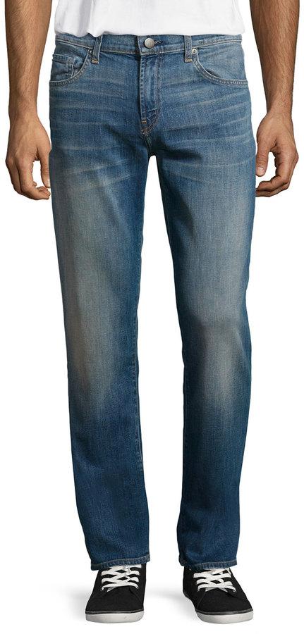 J BrandJ Brand Relaxed Straight-Leg Jeans, Baker