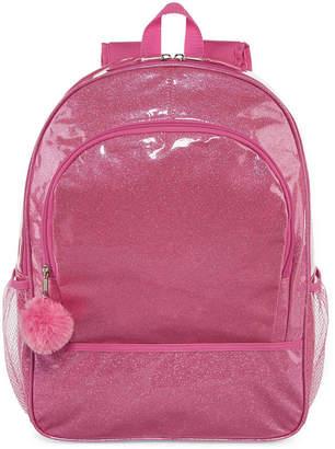 Asstd National Brand Pink Glitter Backpack