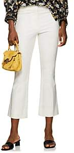 Derek Lam 10 Crosby Women's Cotton Crop Flared Pants - White