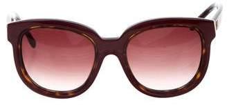Balenciaga Tinted Oversize Sunglasses