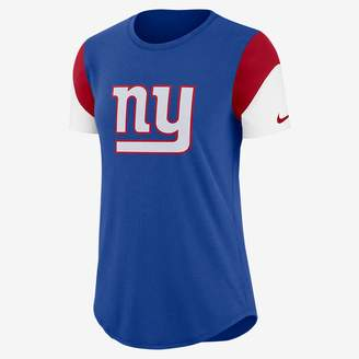 Nike Team Fan (NFL Giants) Women's Tri-Blend T-Shirt