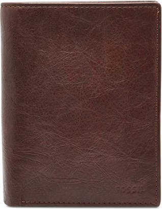 Fossil Men's Ingram Rfid-Blocking Leather International Combination Wallet
