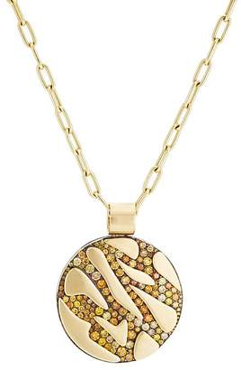 VRAM Women's Diamond Pendant Necklace