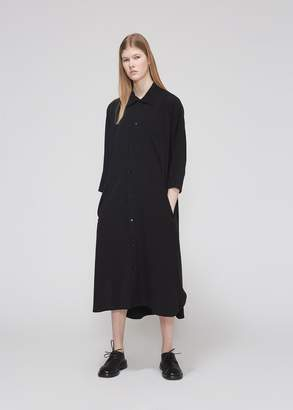 Yohji Yamamoto Y's by Long Shirt Dress