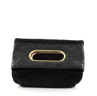 Louis Vuitton Black Leather Handbag