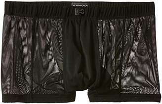 Hom Men's Temptation Hope Comfort Boxer Brief Plain Trunk