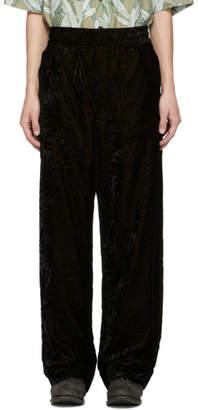 Haider Ackermann Black Cynara Pyjama Trousers