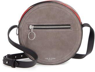 Rag & Bone Leather & Suede Circle Bag