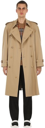Burberry Westminster Cotton Trench Over Coat