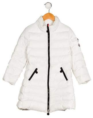 Moncler Girls' Quilted Down Coat