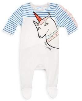 Little Marc Jacobs Baby's Unicorn Bodysuit