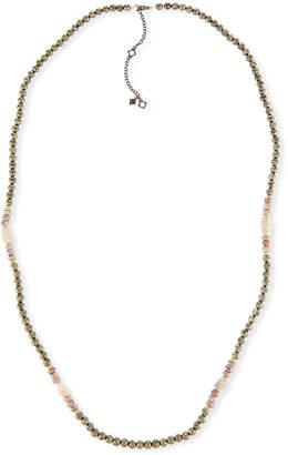 Armenta Old World Pyrite, Corundum & Opal Necklace - 40