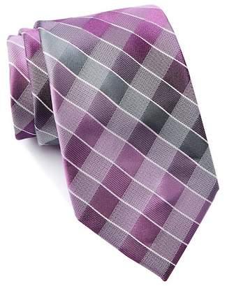 Kenneth Cole Reaction Maldive Grid Silk Tie