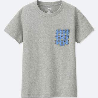 Uniqlo Kid's Minions Short-sleeve Graphic T-Shirt
