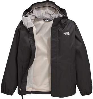 The North Face Older Girls Resolve Reflective Jacket - Black