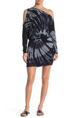 Young Fabulous & Broke Jannice One Shoulder Tie-Dye Dress