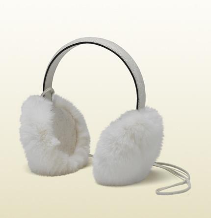 Gucci Fur Earmuffs