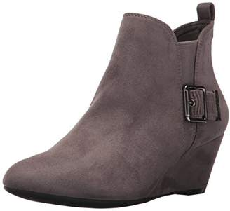 Anne Klein Women's ANNI Fabric Ankle Boot