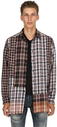 Diesel Dyed Check Cotton Shirt