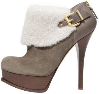 Fendi Suede Ankle boots