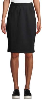 Eileen Fisher Organic Cotton Terry Pencil Skirt