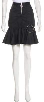 Marques Almeida Marques' Almeida Pleated Mini Skirt