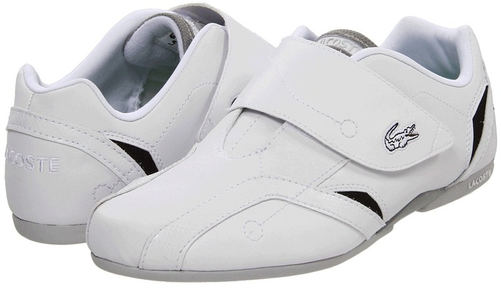 Lacoste Kids - Protect HSK (Youth) (White/Green) - Footwear