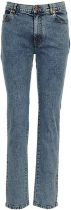 See by Chloe Faded Straight-leg Jeans