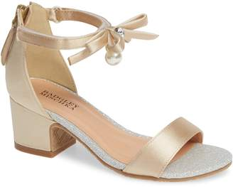 Badgley Mischka Collection Pernia Embellished Sandal