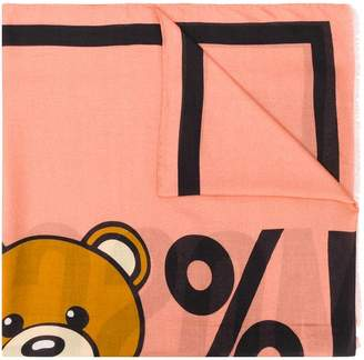 Moschino Teddy bears scarf